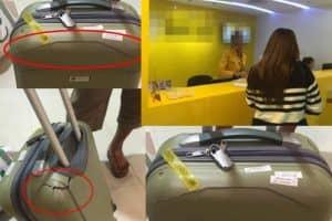 アソークのターミナル21内で、タイ人男性がスマホ型スタンガン被害!