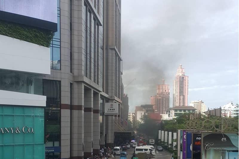 4月末のダイナソー・プラネットに続き、エンポリアムでも火災が発生