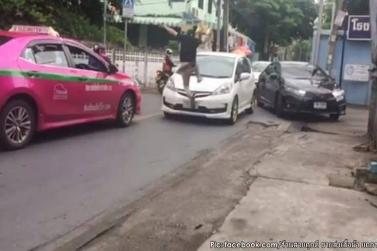 道を譲らない対向車にブチ切れたタクシー運転手、免許取り消し処分に
