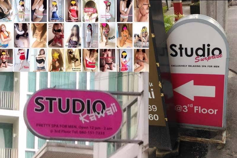 多くの日本人が住むスクンビット39のメンズ・スパが売春容疑で手入れ