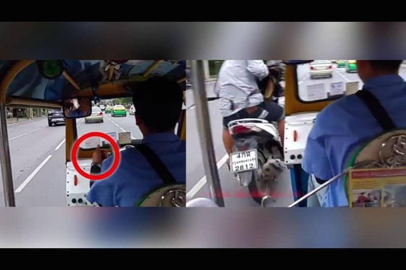 【動画】トゥクトゥク運転手は引ったくり犯とグルだったのか否か?