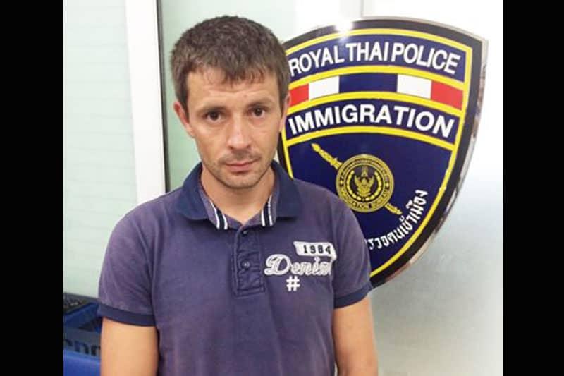 麻薬で強制送還されたロシア人、偽名でタイ再入国してオーバーステイ