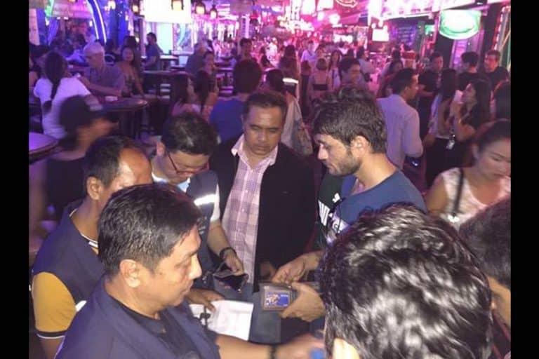 パタヤとバンコクの盛り場で、不法就労の外国人の取り締まり相次ぐ!