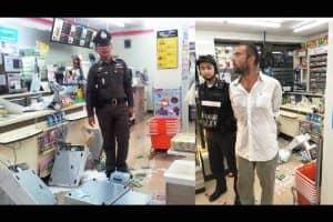 労働許可証を持っていなかった屋台の売り子のミャンマー人3人を逮捕