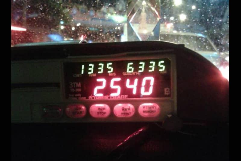 中国人にバンコクのパヤタイ⇒サムセンのタクシー料金2540バーツ請求