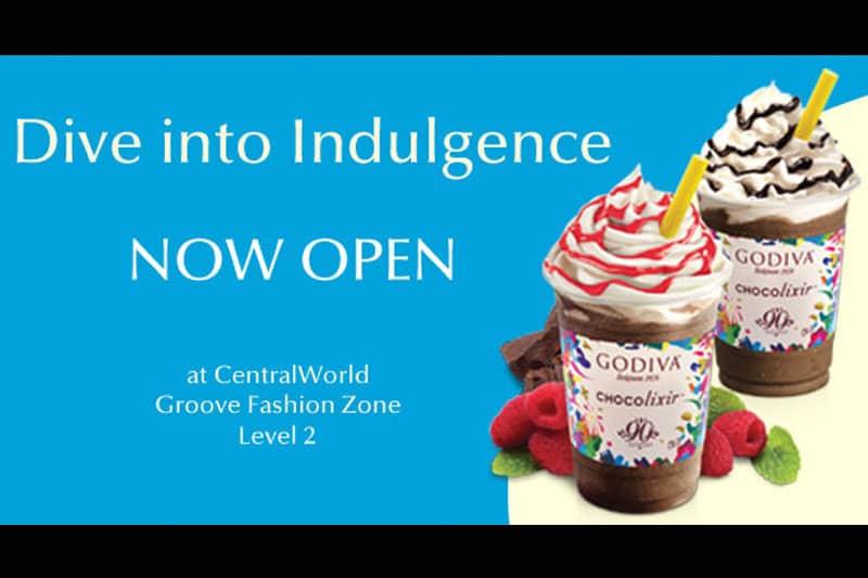 高級チョコレートの『ゴディバ』セントラルワールド店がオープン