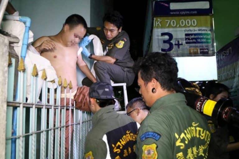 2階から落下したタイ人男が鉄柵に刺さるも、男性機能は無事で一安心