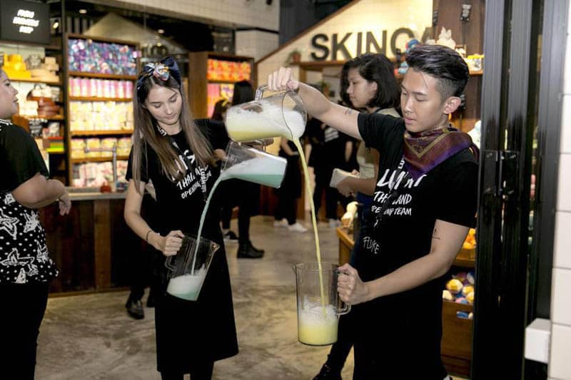 自然派化粧品&石鹸のLUSH、サイアムセンターに旗艦店を開店