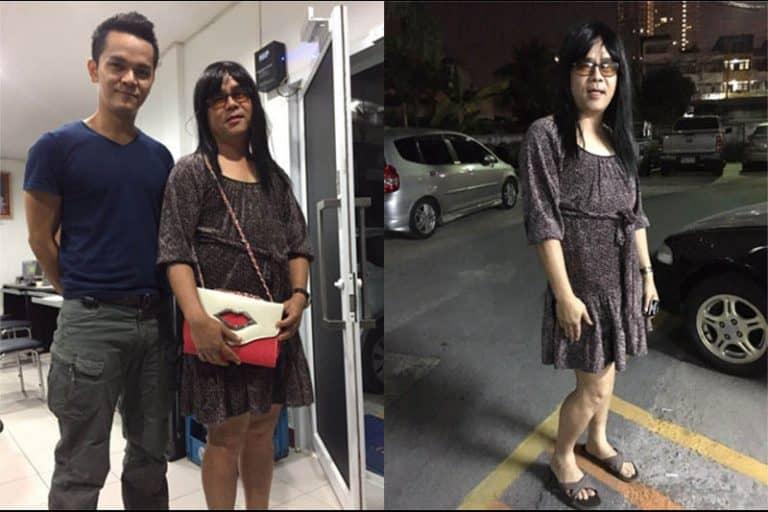 タイ警察のオトリ捜査官は美しい?女装巡査部長の奮闘で犯人逮捕!