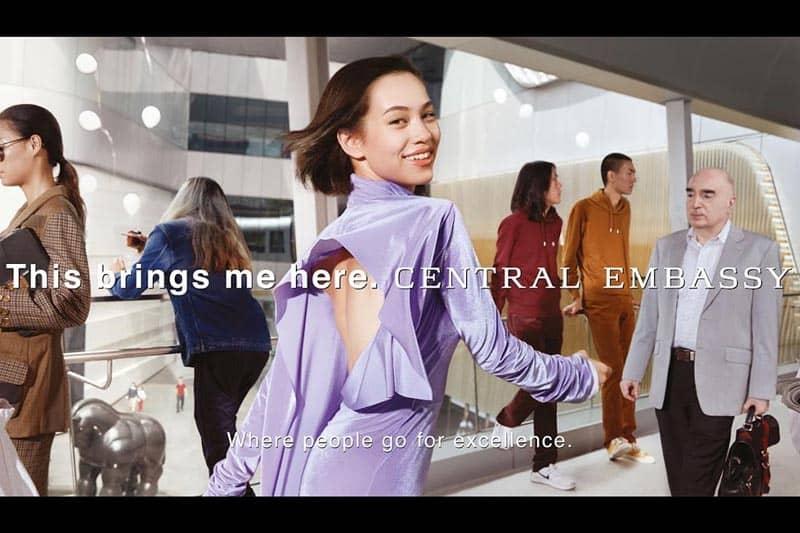 バンコクのセントラル・エンバシー、モデル・女優の水原希子を広告に起用