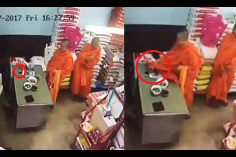 偽僧にiPhoneを盗まれた女性、泥棒を捕まえるため自腹で報奨金を提供