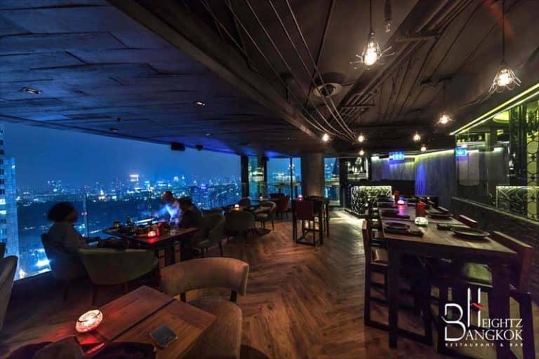 アソークのルーフトップバー「Bangkok Heightz」のオリジナルカクテル