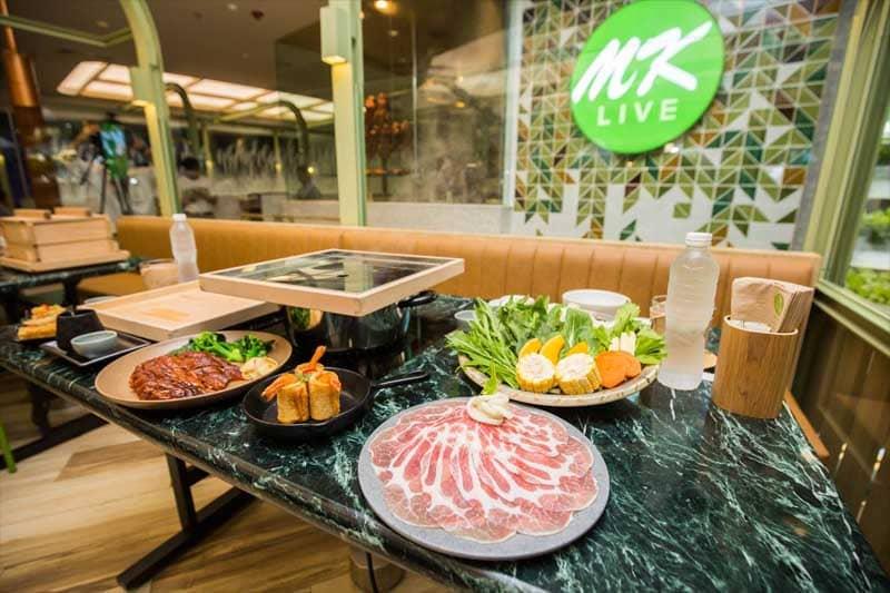 タイスキのMKが健康がコンセプトの新店舗をエムクオーティエに開店