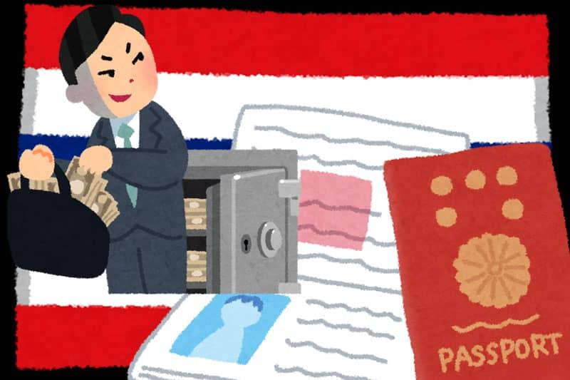 日本で逮捕状が出ている犯罪者が、タイで不法滞在容疑で逮捕される訳