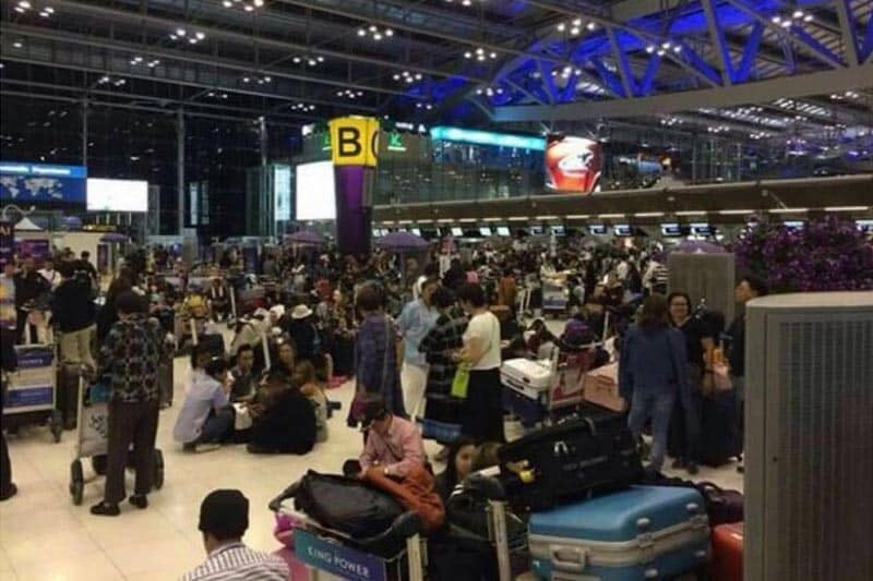タイで「てるみくらぶ」的トラブル発生、千人以上が空港に押し寄せる