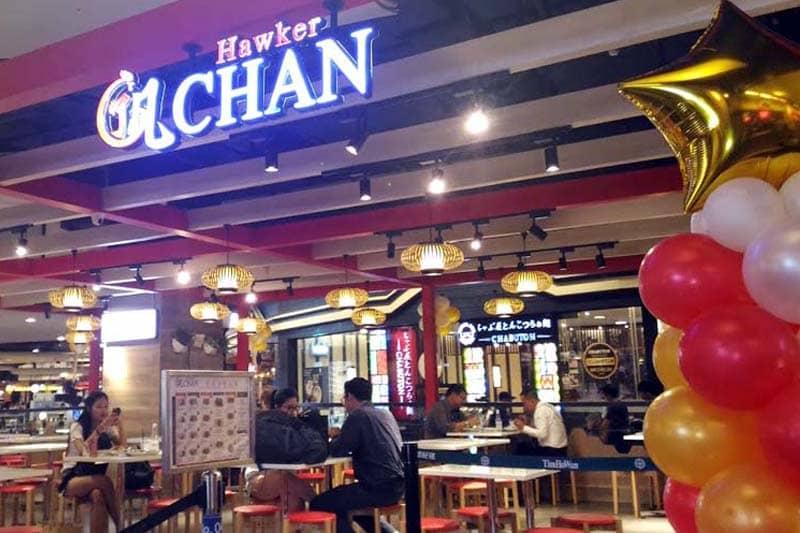 シンガポール発ミシュラン一つ星店『ホーカー・チャン』@ターミナル21
