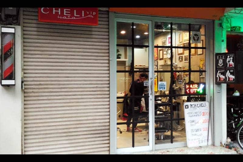 スクンビットSoi 29の格安日系メンズ理髪店『ロックチェリー』