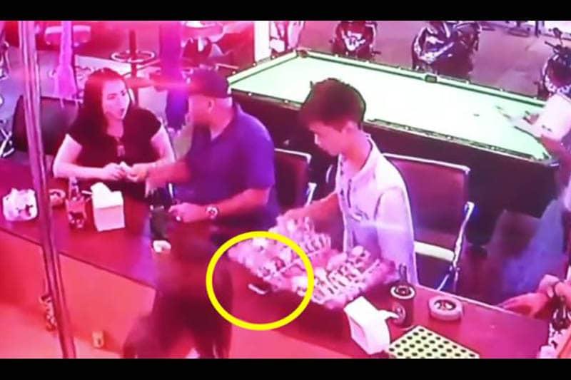 【動画】パタヤで偽物の腕時計売りが近づいて来たら、貴重品の盗難に注意