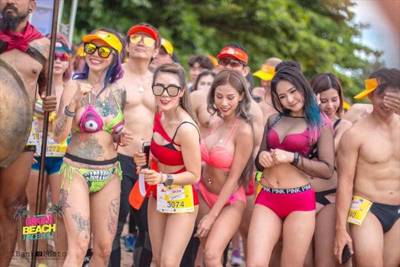 【動画】7月1日(土)にパタヤで開催されたビキニ・ビーチレース2017