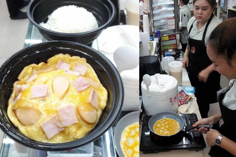 タイのセブンイレブン、ALLカフェの次はできたてオムレツを店内で提供?
