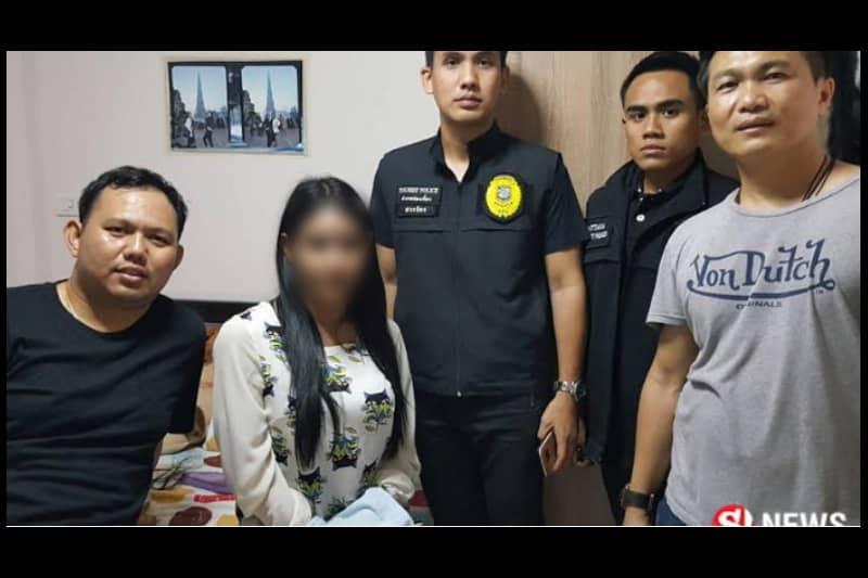 パタヤの有名オカマ娼婦、ロシア人観光客から金を盗み捕まる