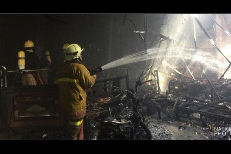 速報!日本人街トンローのカラオケ店で火事、怪我3名が出る