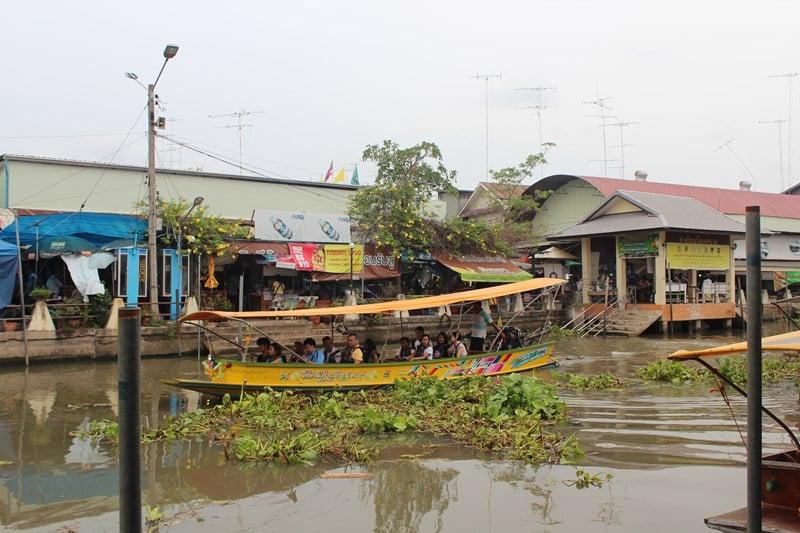 デートスポットINタイ:タイ人に大人気!アンパワーの水上マーケット