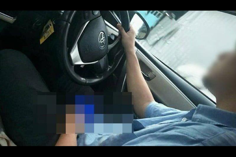タクシー運転手、女子学生を乗せながらオナニーに耽る