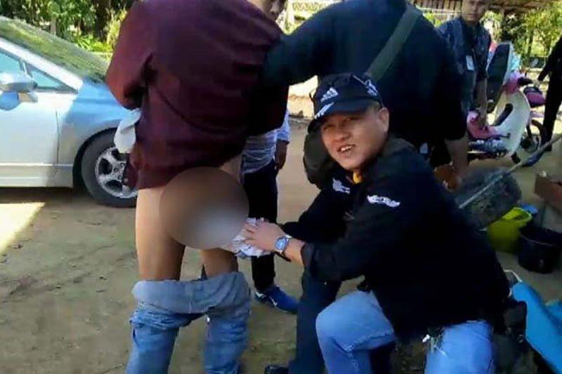 タイ北部で肛門に203錠のドラッグを隠していた男を逮捕