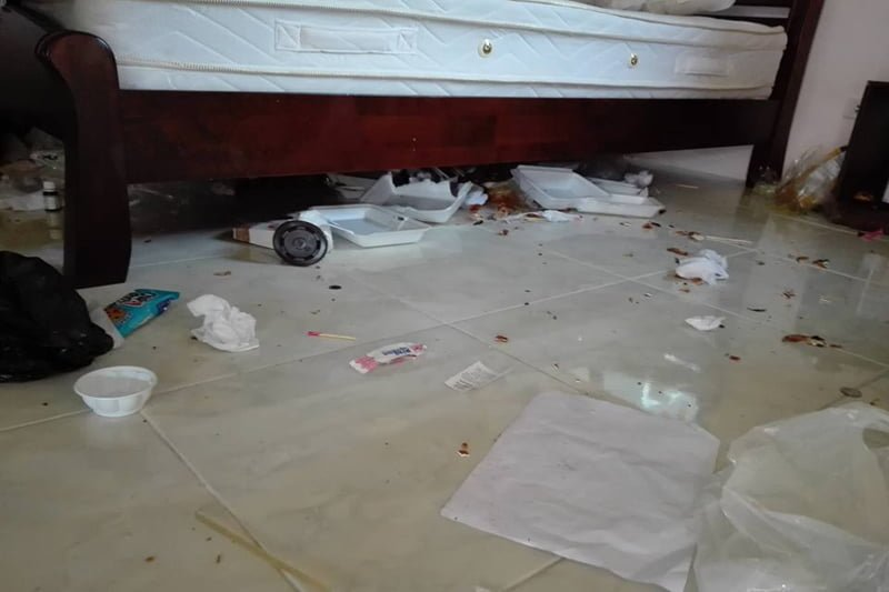 民泊した中国人が部屋をゴミ箱状態に!オーナーが激怒!