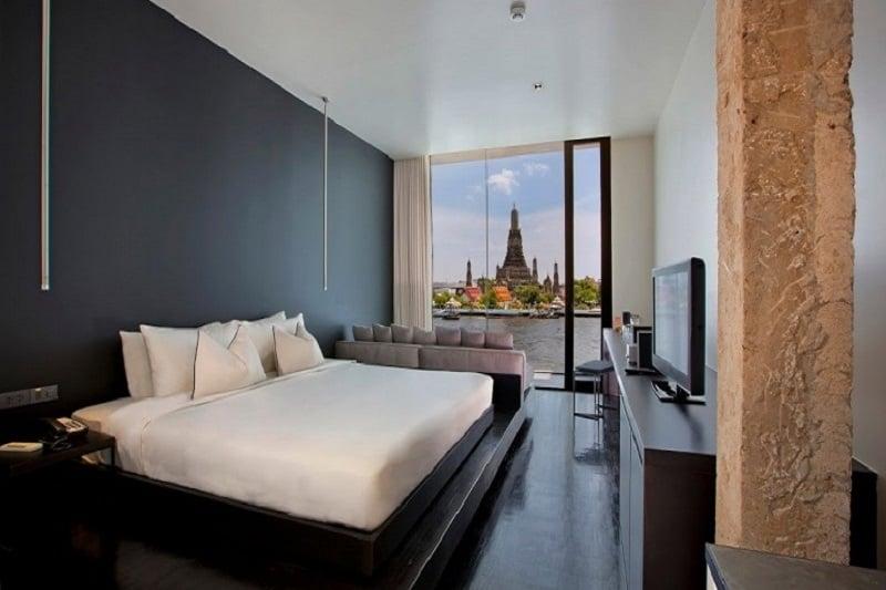 バンコク代表する寺院、ワット・アルンの美しい眺望を1人占めのブティック・ホテル!