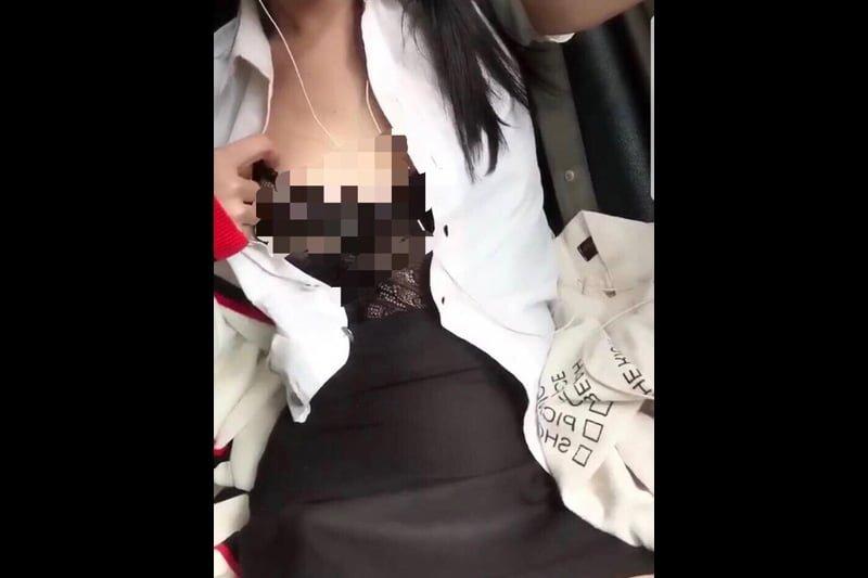 タクシー内で性行為のカップル、警察が捜索中!+アソーク交差点でおしっこのアメリカ人女!