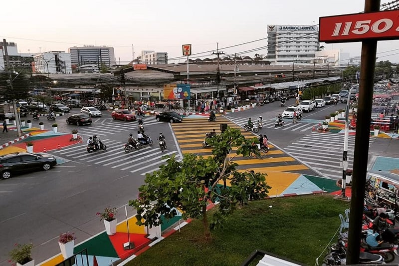タイ東北部に「渋谷スクランブル交差点」が出現!?