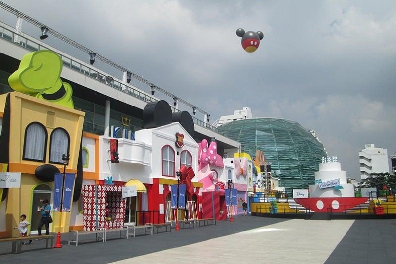バンコクのデューティーフリーでディズニーイベント開催、限定グッズも販売!