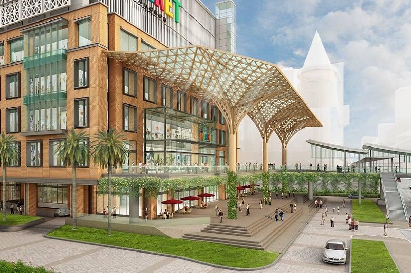 バンコク・ラチャプラソン地区に新しいショッピングモール、ザ・マーケットがオープン!