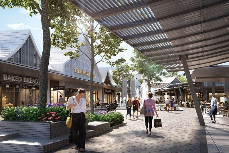 バンコク初の高級ブランド店アウトレットモール、セントラル・ビレッジが8月31日にオープン