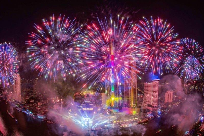 年末年始をバンコクで過ごし、2020年へのカウントダウンに参加!
