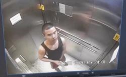 コロナで揺れるバンコクで、チ*コを触った手で公共エレベーター内を触りまくる変態!(動画あり)