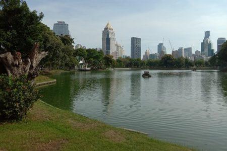 コロナからの復興に向かうバンコク~ルンピニ公園