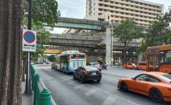 コロナからの復興に向かうバンコク~ラチャプラソン交差点