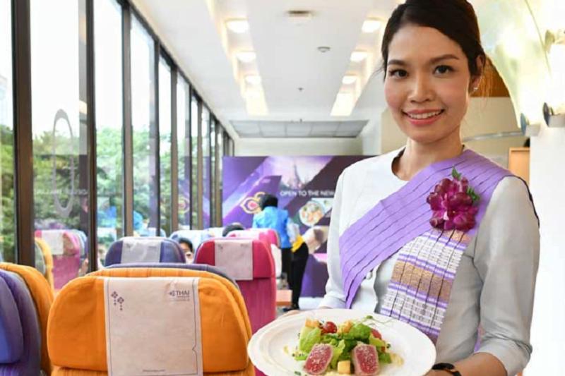 バンコクのタイ航空本社にカフェレストランがオープン