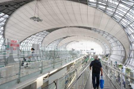 スワンナプーム国際空港拡張工事来年4月完了予定